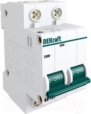 Выключатель автоматический Schneider Electric DEKraft 11066DEK