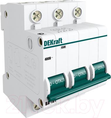 Выключатель автоматический Schneider Electric DEKraft 11081DEK