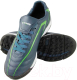 Бутсы футбольные Atemi SD500 TURF (серый/зеленый, р-р 32) -