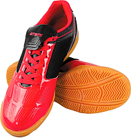 Бутсы футбольные Atemi SD803 Indoor (красный/черный, р-р 45) -