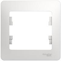 Рамка для выключателя Schneider Electric Glossa GSL000101 -