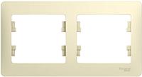 Рамка для выключателя Schneider Electric Glossa GSL000202 -