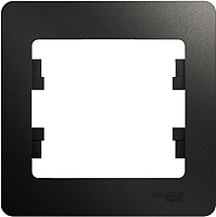 Рамка для выключателя Schneider Electric Glossa GSL000701 -