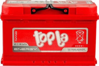 Автомобильный аккумулятор Topla Energy R+ / 108000