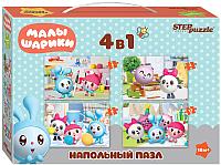 Набор пазлов Step Puzzle Малышарики / 70155 -