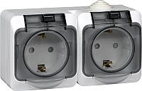 Розетка Schneider Electric Этюд PA16-244B -