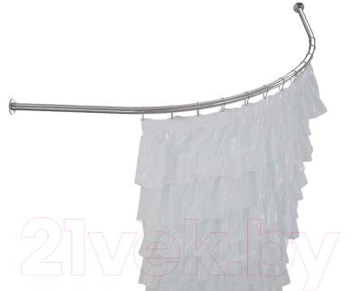Карниз для ванны Aquatek Бетта 150x95 / KARN-0000001 (дуга)
