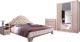 Комплект мебели для спальни Рэйгрупп Jakarta EL-01.01 (ясень снежный/сосна натуральная) -