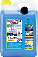 Жидкость стеклоомывающая Sonax Зимняя. Лимон концентрат / 332505 (5л) -