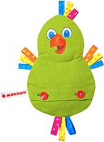 Игрушка-грелка Мякиши Доктор Мякиш. Попугай / 240 -