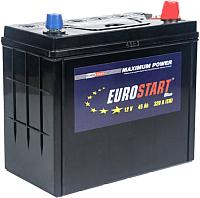 Автомобильный аккумулятор Eurostart Blue Asia R+ (45 А/ч) -