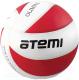 Мяч волейбольный Atemi Olimpic (красный/белый) -
