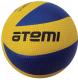 Мяч волейбольный Atemi Tornado (желтый/синий) -