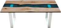 Обеденный стол Timb 1028 (эпоксидная смола/дуб) -