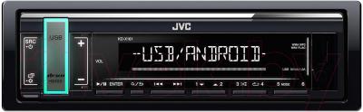 Бездисковая автомагнитола JVC KD-X161