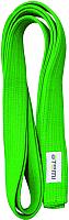 Пояс для кимоно Atemi Зеленый (280см) -