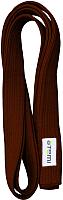 Пояс для кимоно Atemi Коричневый (280см) -