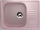 Мойка кухонная Ulgran U-202 (315 розовый) -