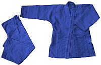 Кимоно для дзюдо Atemi AX7 (р-р 24-26/125, синий) -
