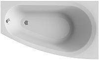 Ванна акриловая Alba Spa Baline Asymmetric 150x90 R (с ножками) -