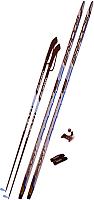 Комплект беговых лыж STC NN75 195/155 (красный) -