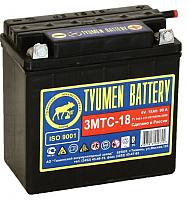 Мотоаккумулятор Tyumen Battery Лидер 3МТС-18 без электролита (00-00001581) -