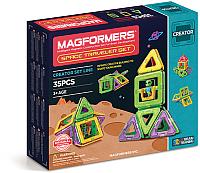 Конструктор магнитный Magformers Space Traveler Set / 703007 (35эл) -