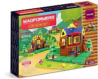 Конструктор магнитный Magformers Log House Set / 705004 (87эл) -