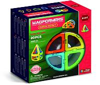 Конструктор магнитный Magformers Curve Set / 701010 (20эл) -