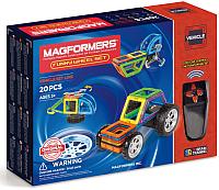 Конструктор управляемый Magformers Funny Wheel Set / 707012 (20эл) -