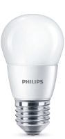 Лампа Philips ESS LEDLuster 6.5-75W E27 840 P45ND / 929001887107 -