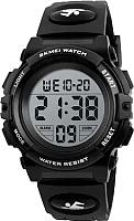 Часы наручные для мальчиков Skmei 1266-3 (черный) -