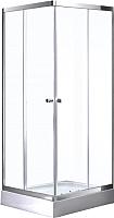 Душевой уголок Avanta D107/2 (рифленое стекло) -