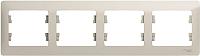 Рамка для выключателя Schneider Electric Glossa GSL000904 -