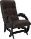 Кресло-глайдер Импэкс 68 (Dundi 108/венге) -
