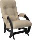 Кресло-глайдер Импэкс 68 (венге/Malta 03 А) -