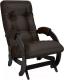 Кресло-глайдер Импэкс 68 (венге/Oregon perlamutr 120) -
