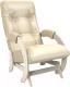 Кресло-глайдер Импэкс 68 (дуб шампань/Oregon Perlamutr 106) -