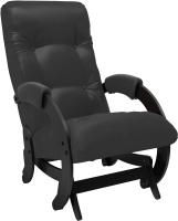 Кресло-глайдер Импэкс 68 (венге/Vegas Lite Black) -