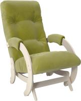 Кресло-глайдер Импэкс 68 (дуб шампань/Verona Apple Green) -
