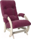 Кресло-глайдер Импэкс 68 (дуб шампань/Verona Cyklam) -