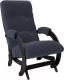 Кресло-глайдер Импэкс 68 (венге/Verona Denim Blue) -