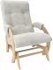 Кресло-глайдер Импэкс 68 (венге/Verona Light Grey) -