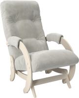 Кресло-глайдер Импэкс 68 (дуб шампань/Verona Light Grey) -
