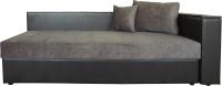 Тахта Lama мебель Лиза-1 гр.тк. 4 (Cortex Java/Teos Dark Brown) -