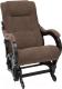 Кресло-глайдер Импэкс 78 (венге/Verona Brown) -
