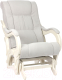 Кресло-глайдер Импэкс 78 (дуб шампань/Verona Light Grey) -