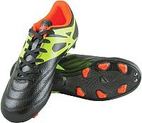 Бутсы футбольные Novus NSB-20 MSR (черный, р-р 34) -