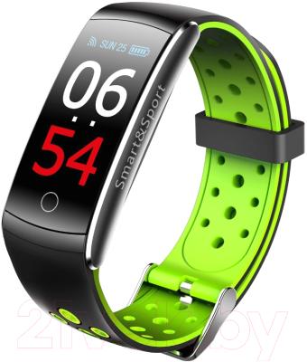 Фитнес-трекер SOVO SE12 цветной дисплей (черный/зеленый)