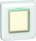 Рамка для выключателя Legrand Mosaic 78880 (белый) -